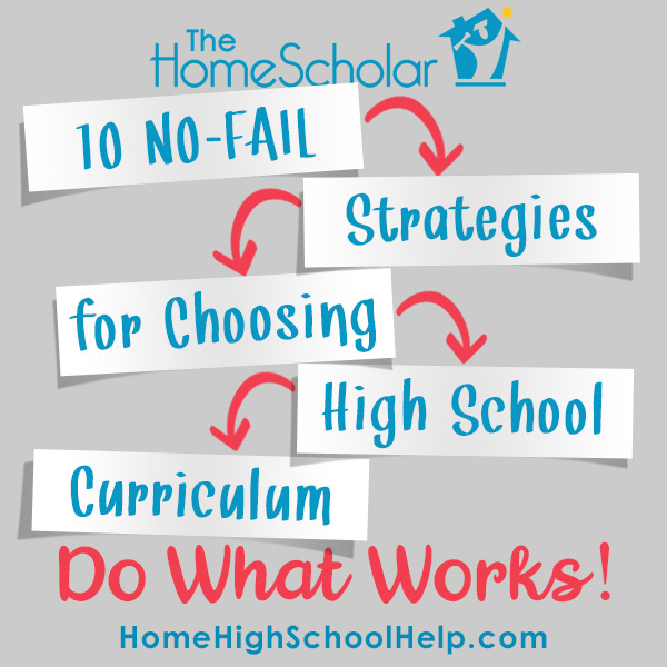 Homeschool Curriculum Strategy - Do What Works