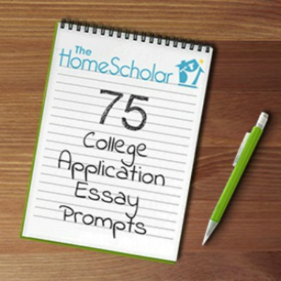 75 College Application Essay Prompts