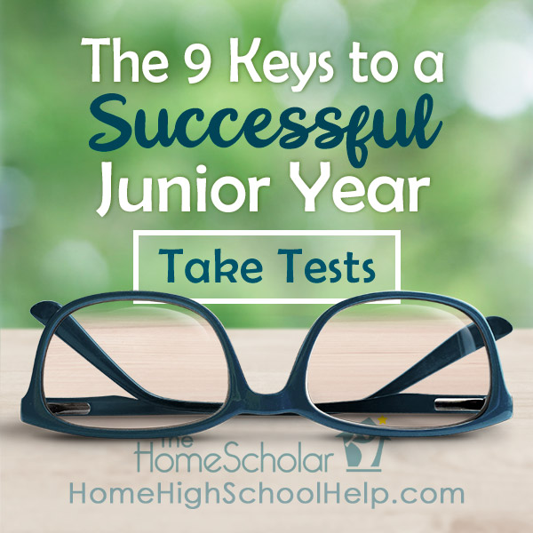 Steps for homeschooling junior year