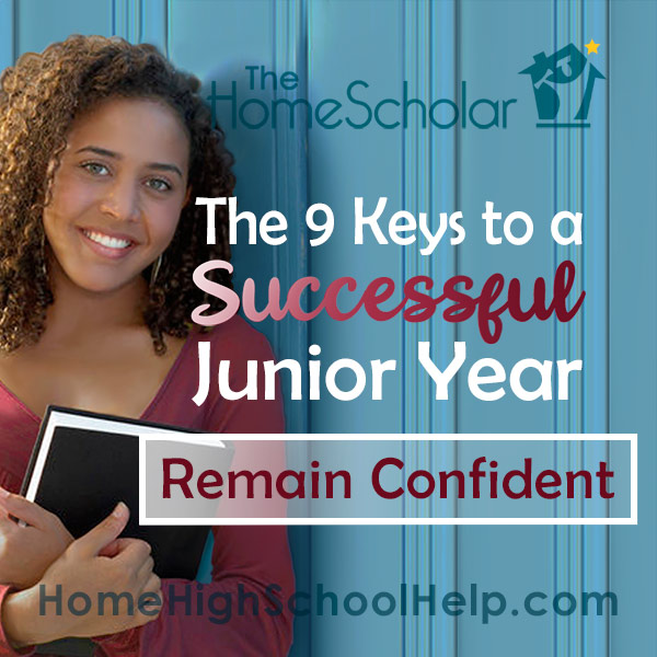 Tips for homeschooling junior year