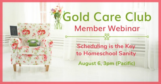 Gold Care Club Webinar: August 6, 2019