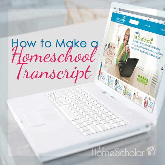 How to Make a Homeschool Transcript