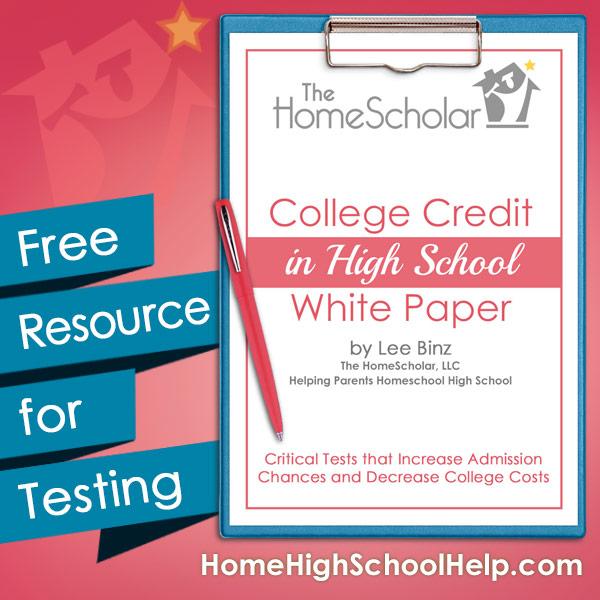 College Credit White Paper