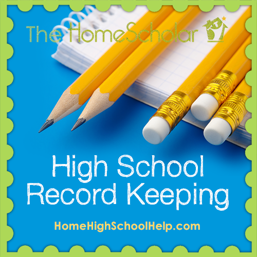 Keep Homeschool Transcripts and Records
