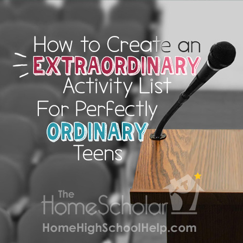 Long-forgotten Extracurricular Activites