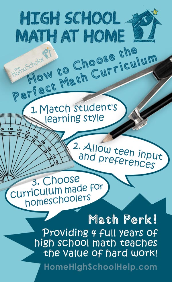 Choosing Homeschool Curriculum Infographic