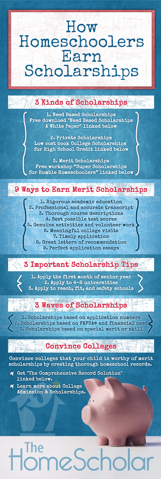 How to Earn Homeschool Scholarships