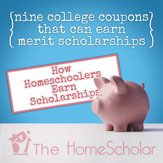 9 College Coupons that Earn Homeschool Scholarships