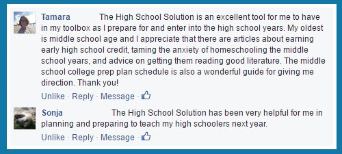 Facebook Loves my High School Solution