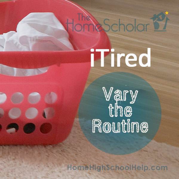 Beat Homeschool Burnout by Varying the Routine
