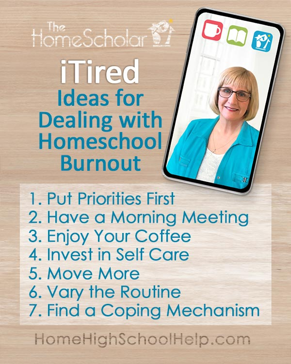 Homeschool Burnout Infographic