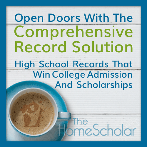 Comprehensive records for homeschool
