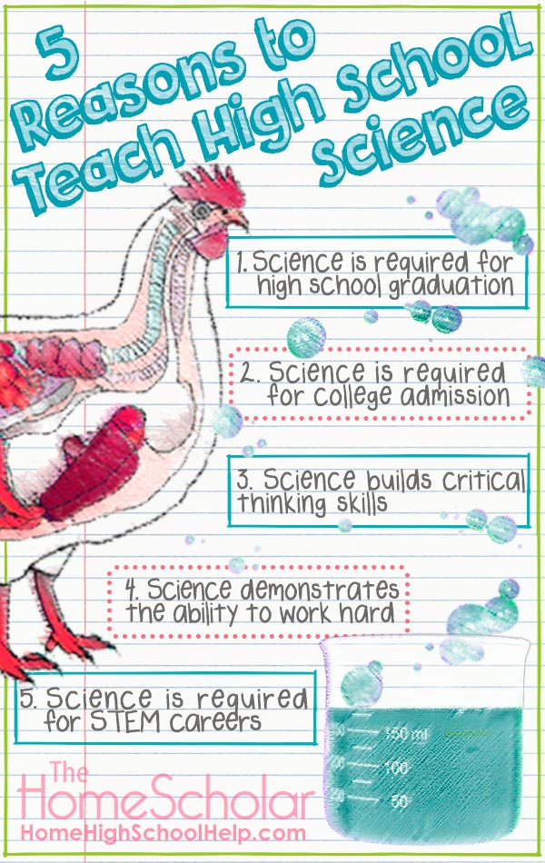 5 Reasons to Teach Homeschool Science