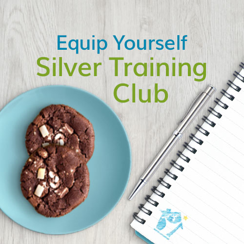 Equip yourself with the Silver Training Club